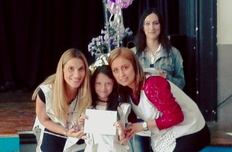 #ConcursoMejorPromedio: Lucía Monsalvo, de Buenos Aires, una de las ganadoras del Premio Ratti Construcciones de escuelas primarias del país