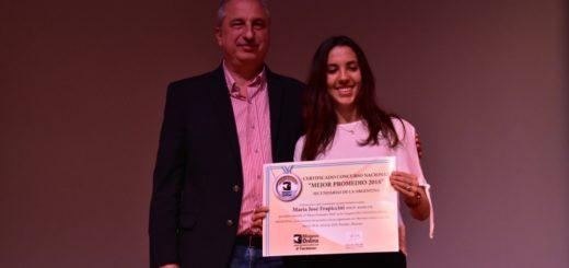 #ConcursoMejorPromedio: María José Frapiccini, de Neuquén, es una de las ganadoras de la Beca Banco Macro de secundarias del país