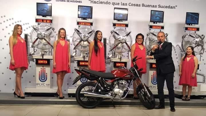 Apostadores de Posadas y Eldorado ganaron motos de la Poceada