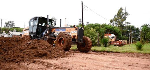 El municipio arregló calles terradas en el barrio Centinela de Posadas
