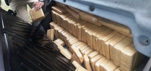 Ita Ibate: Prefectura detuvo a dos narcos con más de 110 kilos de marihuana