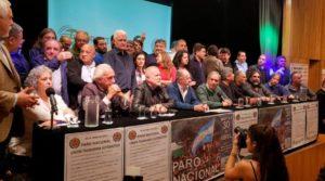 #30A: Gremios anunciaron un paro nacional y movilizaciones en todo el país para el martes 30 de abril, quiénes adhieren y cómo se preparan
