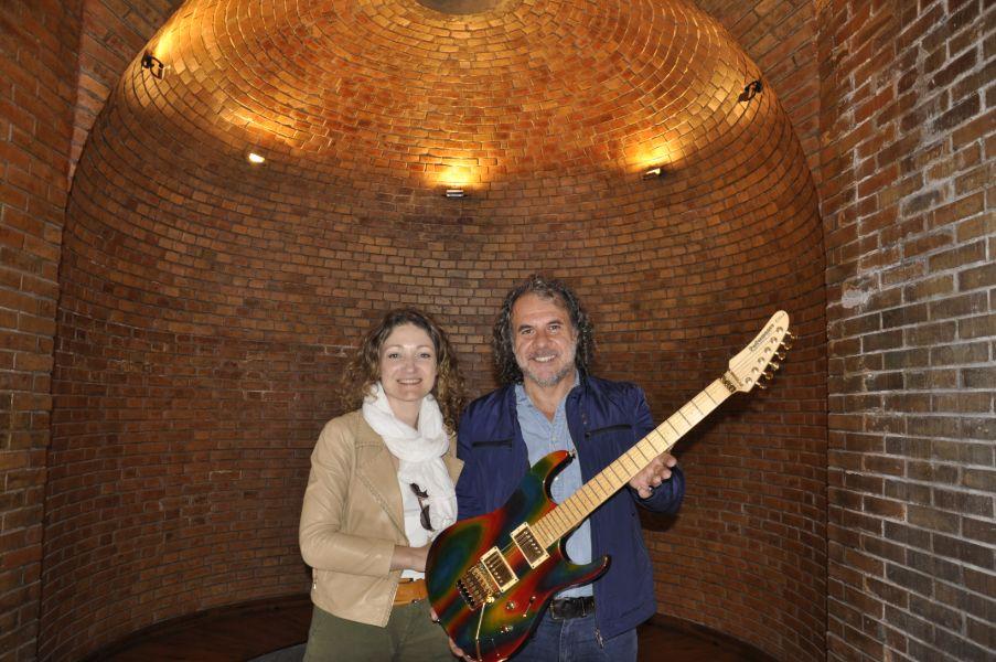 """Visitando la """"experiencia WineRock bodega Monteviejo"""", en valle de Uco, Mendoza"""