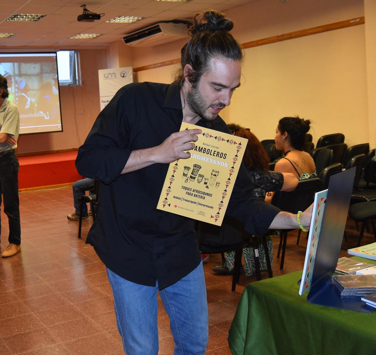 Rafa Lozina  y el aporte de saber artístico que dejó en su gira por Misiones