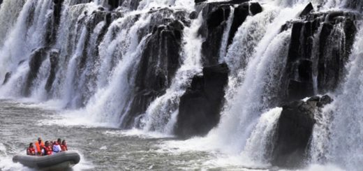 """#ExperienciaMisiones:Saltos del Moconá, """"el que todo lo traga"""""""