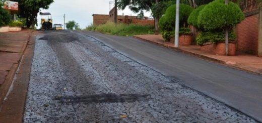 Vialidad continúa con trabajos en Posadas y el interior de la provincia