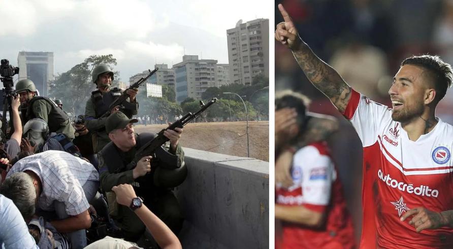 Por el estallido social, suspenden el partido que Argentinos Juniors iba a jugar en Venezuela