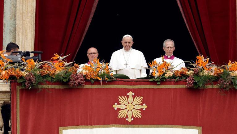 El Papa Francisco pidió que se terminen las «injusticias sociales y las divisiones» en Venezuela