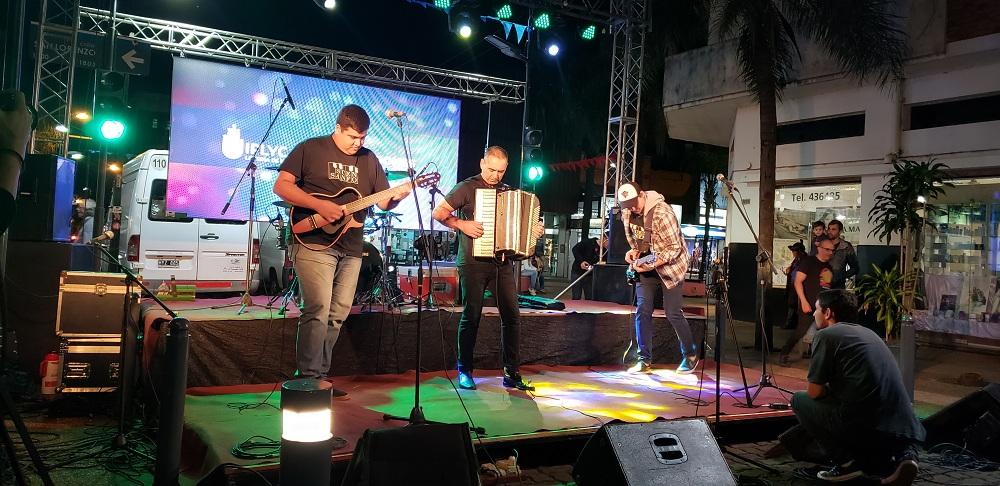 """""""Reventón"""" de música en la primera noche de """"Baile de mi tierra"""""""