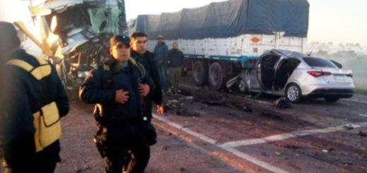 Santiago del Estero: tres docentes muertas y nueve heridos en un choque múltiple provocado por el humo de un basural