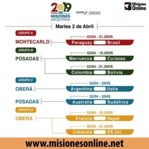 #MundialFutsal: mirá los resultados del lunes, tabla de posiciones y fixture de este martes 2 de abril