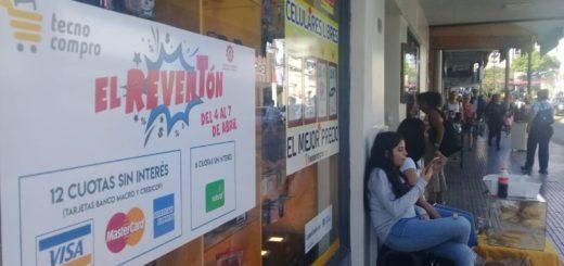 Comercios esperan con El Reventón una oportunidad para contrarrestar la caída de las ventas
