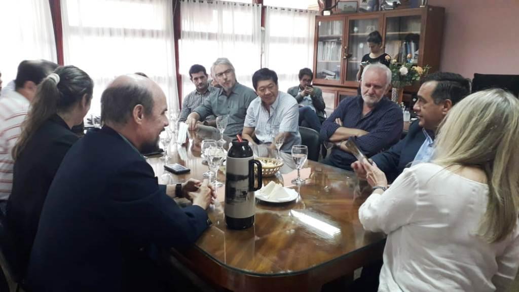 El Ministro de Educación de la Nación, Alejandro Finocchiaro visita la Universidad Nacional de Misiones