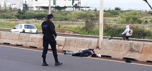 Un motociclista falleció tras colisionar en Acceso Sur de Posadas