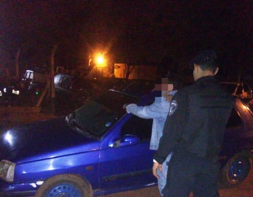 Detuvieron a un hombre alcoholizado que provocó un siniestro y secuestraron un automóvil
