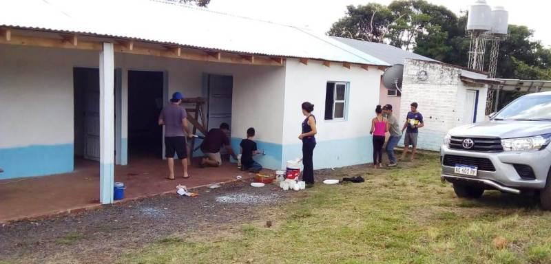 La escuela rural N°932 de Pozo Azul luce sus nuevas instalaciones