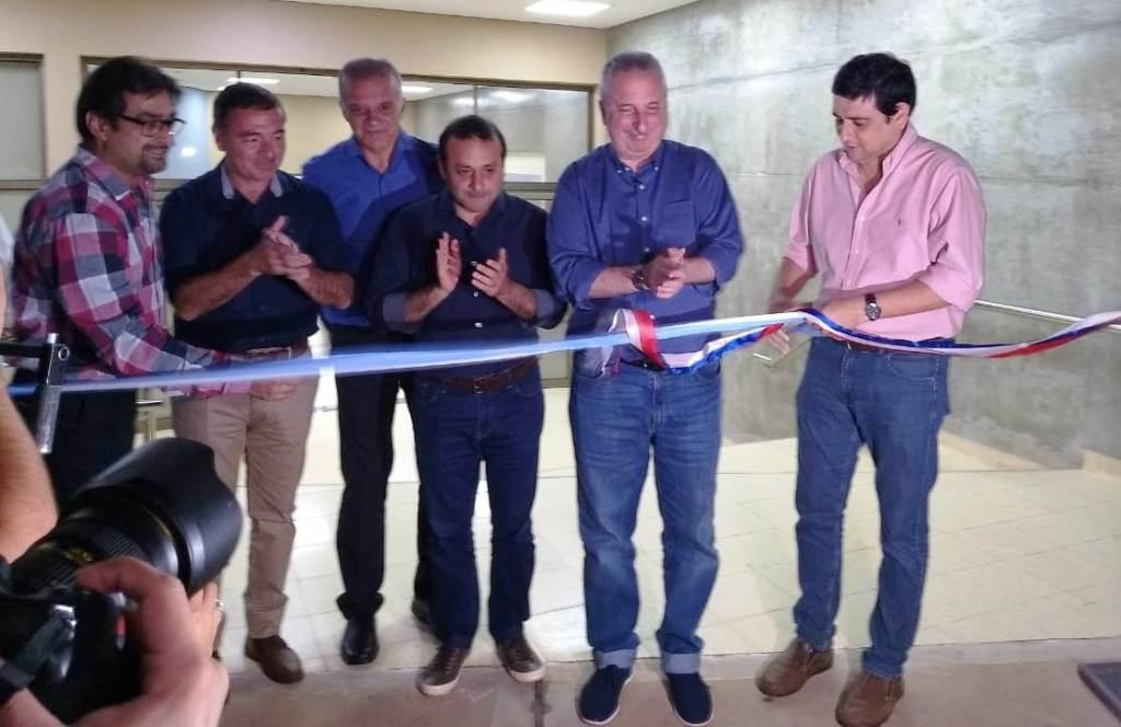 El Gobernador Hugo Passalacqua y el Vicegobernador de Misiones Oscar Herrera, inauguraron la primera etapa de obras del Hospital Favaloro de Posadas