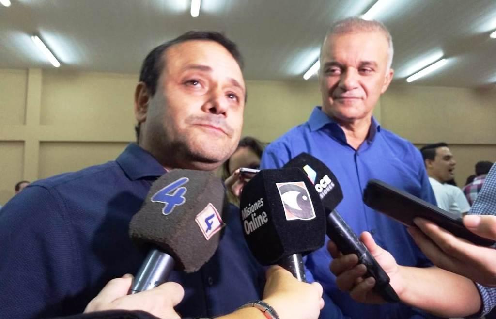 #Elecciones2019: Oscar Herrera Ahuad celebró la posibilidad de continuar trabajando al servicio de los misioneros junto a Carlos Arce