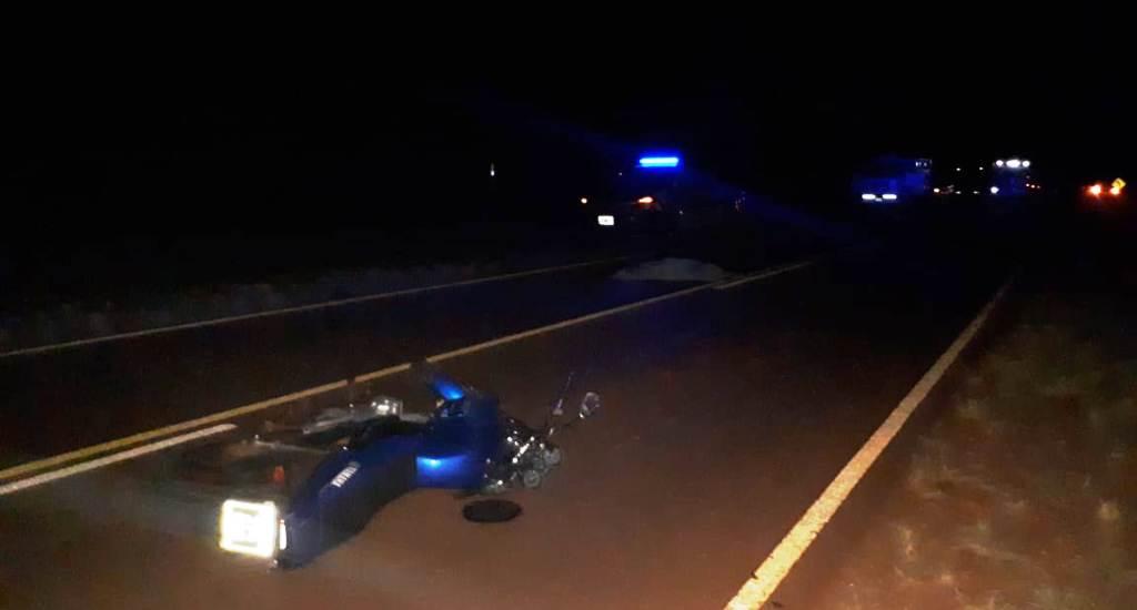 Una mujer murió tras un despiste con una moto en San Vicente
