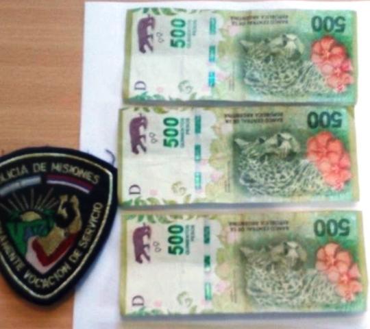 Concepción de la Sierra: fue detenido por sustraer dinero de una camioneta