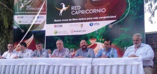 Herrera Ahuad destacó la confianza puesta en Misiones por inversores de la telecomunicación en la inauguración de la Red Capricornio