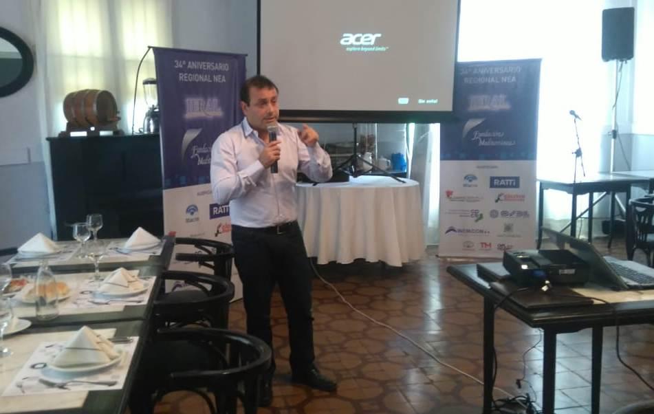 Herrera Ahuad coincidió con empresarios en la necesidad de desburocratizar el Estado y diversificar la matriz productiva y exportadora de Misiones
