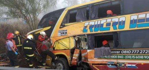 Siniestro vial en Córdoba: además del chofer misionero, falleció un pasajero del micro