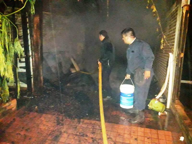 Santiago de Liniers: se incendiaron dos casas en el barrio Cabureí