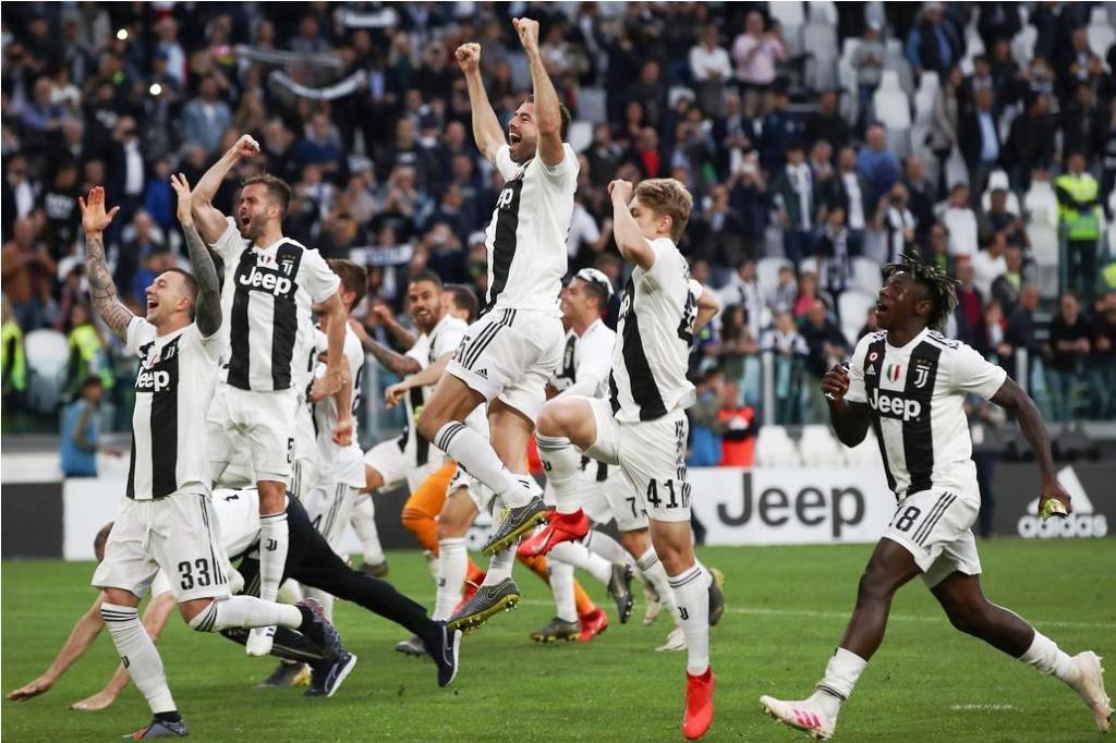 Juventus se coronó campeón de la Serie A y Cristiano Ronaldo rompió un récord único en el mundo