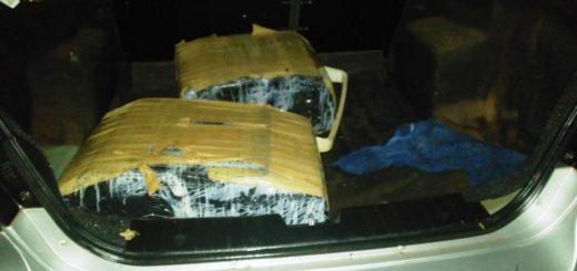 Policías atraparon a narcos e incautaron marihuana con un valor superior a los 4 millones de pesos