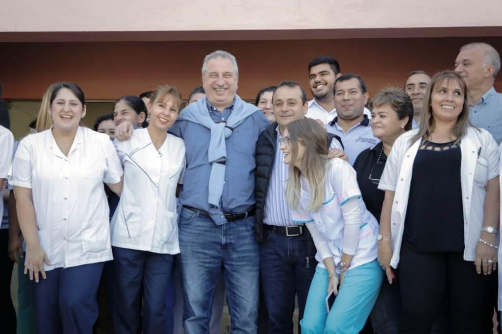El Gobernador Hugo Passalacqua inauguró el hospital de Nivel I de Itaembé Guazú