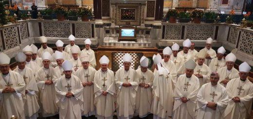 Obispos misioneros junto a sus pares del país participan del #AdLiminaApostolorum en el Vaticano