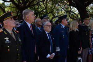 """""""La reivindicación por nuestras islas no tiene prescripción"""", expresó Aguad al conmemorar el Día del Veterano y de los Caídos en la Guerra de Malvinas"""