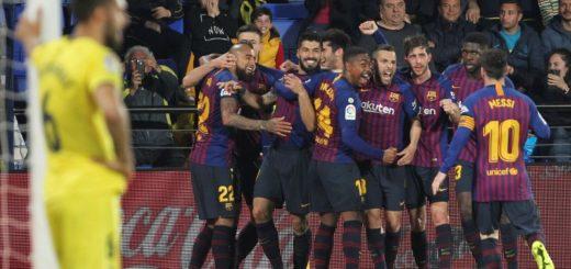 Liga de España: en un partido increíble, Messi y Suárez salvaron al Barcelona que igualó 4-4 ante el Villarreal