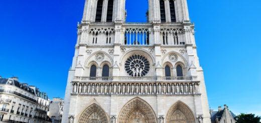 Viral: tomó una tierna foto antes del incendio de Notre Dame y ahora busca a sus protagonistas