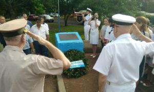 Homenajearon en Posadas al primer caído en la guerra de Malvinas, el capitán Pedro Giachino
