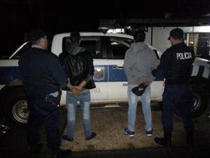 San Vicente: recuperaron moto robada y detuvieron a dos personas en operativo de seguridad