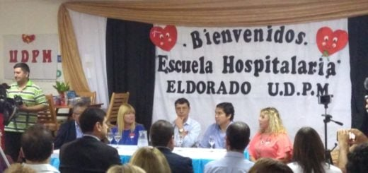 Eldorado: se inauguró la escuela hospitalaria y domiciliaria