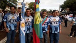 Eldorado: con un desfile cívico militar honraron a los veteranos y caídos en la guerra de Malvinas