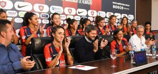 Día histórico para el fútbol femenino: San Lorenzo es el primer club en firmar contratos con sus jugadoras