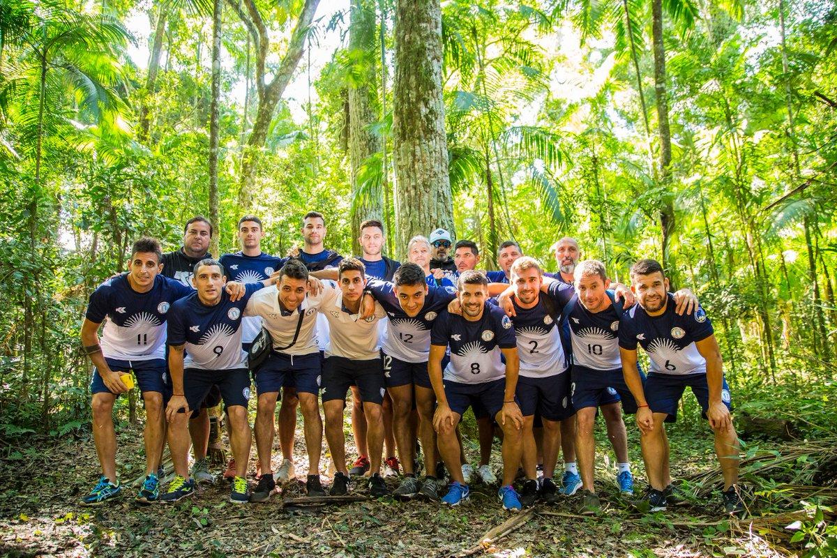 La selección Argentina de Futsal visitó la Selva Misionera, una de las 28 finalistas a ser elegidas como una de las 7 Maravillas Naturales de Argentina