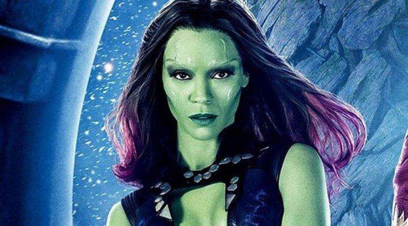 Avengers Endgame: Gamora disfruta de unos mates mientras recupera sus energías para continuar la batalla contra Thanos