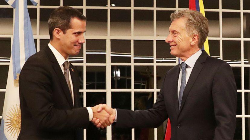 Crisis en Venezuela: Macri apoyó a Guaidó y volvió a pronunciarse en contra de Nicolás Maduro