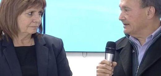 """Patricia Bullrich recibió a Lino Villar Cataldo: """"Era su vida o la del delincuente"""""""