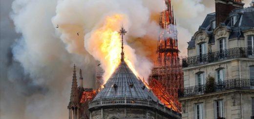 Un corto circuito habría sido la causa del incendio en la Catedral de Notre Dame