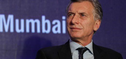 """""""El riesgo país sube porque en el mundo hay miedo de que los argentinos quieran volver atrás"""", señaló Macri"""
