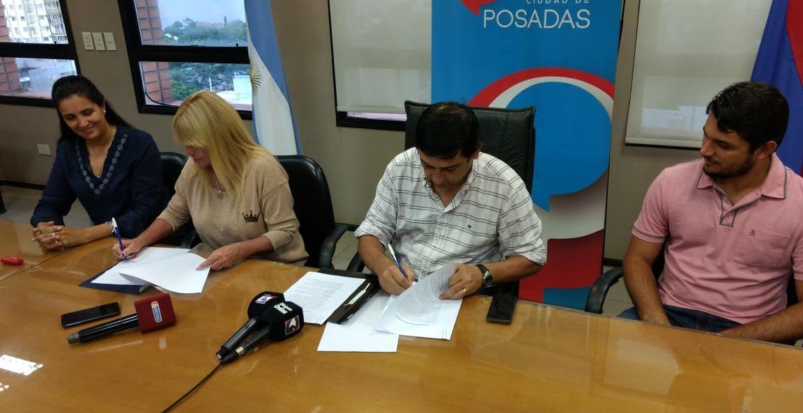 La Municipalidad firmó un convenio con Udpm para capacitar a jóvenes que buscan empleo en Posadas
