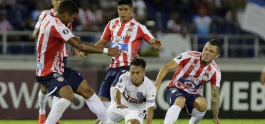 Copa Libertadores: San Lorenzo perdió el invicto en Colombia