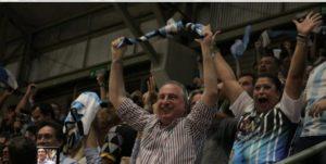 El gobernador Passalacqua celebró en las redes, el triunfo de la Selección Argentina de Futsal