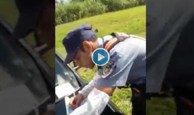 Eldorado: intentó crear una escena de violencia policial y filmó un video de una falsa agresión para zafar de una multa